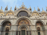 St. Mark's Basilica, Venice, UNESCO World Heritage Site, Veneto, Italy, Europe Photographic Print