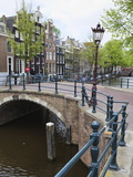Reguliersgracht, Amsterdam, Netherlands, Europe Photographic Print