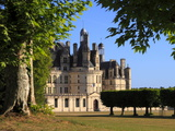 South Facade, Chateau De Chambord, Chambord, Loir Et Cher, Loire Valley, France Photographic Print by Dallas & John Heaton
