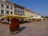 Raekoja Plats (Market Square) of Tartu, Estonia, Baltic States, Europe Photographic Print