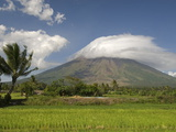 Mayon Volcanic Cone, Legazpi, Bicol, Luzon, Philippines, Southeast Asia, Asia Photographic Print