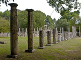 The Ancient Town of Olympia, UNESCO World Heritage Site, Peloponnese, Greece, Europe Photographic Print