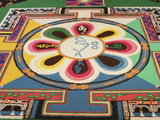 Buddhist Sand Mandala, Paris, France, Europe Photographic Print