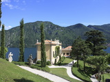 Villa Balbianello, Lenno, Lake Como, Lombardy, Italy, Europe Photographic Print by Vincenzo Lombardo
