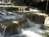 Terraces of Calcite Travertine Forming the Dunn's River Falls, Near Ocho Rios, North Coast, Jamaica Photographic Print