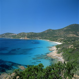 Cargese, West Coast, Corsica, France, Mediterranean, Europe Photographic Print