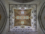 Tower Lantern Ceiling, St. Davids Cathedral, Pembrokeshire National Park, Wales Photographic Print by Peter Barritt
