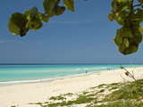 White Sand Beach of Playa Del Este, Cuba, West Indies, Caribbean, Central America Photographic Print