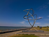 Sculpture at the Beachfront of Pirita, Tallinn, Estonia, Baltic States, Europe Photographic Print