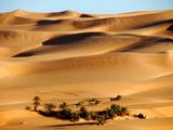 Erg Ubari Desert, Ubari, Libya, North Africa, Africa Photographic Print