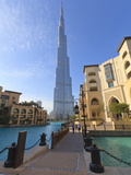 Burj Khalifa and the Palace Hotel, Downtown, Dubai, United Arab Emirates, Middle East Photographic Print by Amanda Hall