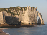 Cliffs at Etretat, Cote D'Albatre, Seine-Maritime, Normandy, France, Europe Photographic Print