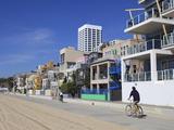 The Strand, Santa Monica, Los Angeles, California, United States of America, North America Fotoprint van Wendy Connett