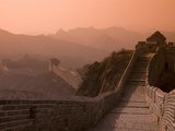 The Great Wall of China at Jinshanling, UNESCO World Heritage Site, China, Asia Fotoprint