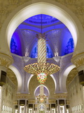 Largest Chandelier in the World Inside Sheikh Zayed Bin Sultan Al Nahyan Mosque, Abu Dhabi Lmina fotogrfica