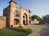 Gate to Itimad-Ud-Daulah (Tomb of Mizra Ghiyas Beg), Agra, Uttar Pradesh, India, Asia Photographic Print by Ian Trower