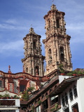 Santa Prisca Church, Taxco, Colonial Town Well Known For Its Silver Markets, Guerrero State, Mexico Photographic Print by Wendy Connett