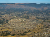 Aerial View of Addis Ababa, Ethiopia, Africa Photographic Print