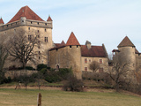 Chateau Du Pin, Le Pin, Jura, Franche Comte, France, Europe Photographic Print