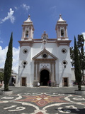 Templo De Santa Veracruz Church, Taxco, Guerrero State, Mexico, North America Photographic Print by Wendy Connett