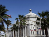The Capitol Building, San Juan, Puerto Rico, West Indies, Caribbean, Central America Photographic Print by Sylvain Grandadam