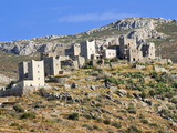 Old Fortified Village of Vathia, in the Lakonian Mani, Peloponnese, Greece, Europe Photographic Print