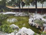 Gardens of Chaotian Gong, Former Ming Palace, Nanjing, Jiangsu, China, Asia Photographic Print by Ian Trower