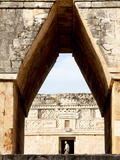 Mayan Ruins of Uxmal, UNESCO World Heritage Site, Yucatan, Mexico, North America Photographic Print by Balan Madhavan