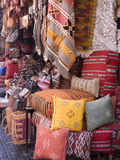 Goods in the Souks in the Medina, Marrakech, Morocco, North Africa, Africa Lámina fotográfica