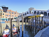 Rialto Bridge, Grand Canal, Venice, UNESCO World Heritage Site, Veneto, Italy, Europe Photographic Print by Amanda Hall