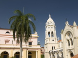 Church and Convent of San Francisco De Asis, Plaza Bolivar, Cosco Viejo, Panama City, Panama Photographic Print