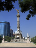 Independence Monument, Angel Statue, Paseo De La Reforma, Mexico City, Mexico, North America Photographic Print by Wendy Connett
