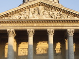 Pediment and Columns of the Pantheon, Paris, France, Europe&10; Photographic Print