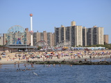 Coney Island, Brooklyn, New York City, United States of America, North America Photographie par Wendy Connett