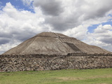 Pyramid of the Sun, Teotihuacan, Archaeological Site, UNESCO World Heritage Site, Mexico Photographic Print by Wendy Connett