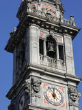 Basilica Di San Vittore Clock Tower, Varese, Lombardy, Italy, Europe Photographic Print