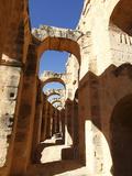 Roman Amphitheatre, El Jem, UNESCO World Heritage Site, Tunisia, North Africa, Africa Stampa fotografica di Dallas & John Heaton