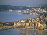 Menton, Cote D'Azur, Alpes-Maritimes, Provence, French Riviera, France, Mediterranean, Europe Photographic Print