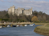 Arundel Castle and River Arun, West Sussex, England, United Kingdom, Europe Photographic Print by Roy Rainford