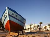 Fishing Boat, Hammamet, Tunisia, North Africa, Africa Stampa fotografica di Dallas & John Heaton