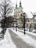 Krakow Historic Center, Poland, Europe Fotografisk tryk af Oliviero Olivieri