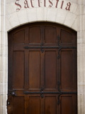 Sacristy Door in Notre Dame De Bayeux Cathedral, Bayeux, Normandy, France, Europe Photographic Print