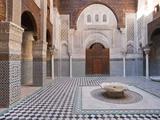 Attarine Madrasah, Fez, UNESCO World Heritage Site, Morocco, North Africa, Africa Photographic Print by Marco Cristofori