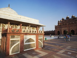 Tomb of Shaikh Salim Chishti in Jama Masjid, Fatehpur Sikri, Uttar Pradesh, India Photographic Print by Ian Trower