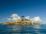 Little Uninhabitated Island Near Ile Aux Cocos, Seychelles, Indian Ocean, Africa Photographic Print