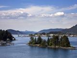 Small Islands in Sitka Sound, Baranof Island, Southeast Alaska, USA Photographic Print