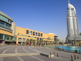 Downtown Dubai District, Dubai Mall, the Address Tower and Souk Al Bahar, Dubai, Uae Photographic Print by Amanda Hall