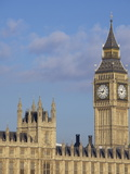 Big Ben and the Houses of Parliament, UNESCO World Heritage Site, Westminster, London Photographic Print by Michael Kelly