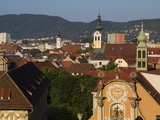 Kloster Spital, Barmherzigenkirche, UNESCO World Heritage Site, Graz, Styria, Austria, Europe Photographic Print by Dallas &amp; John Heaton