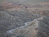 Badlands From Font's Point, Anza-Borrego Desert State Park, California, USA Photographic Print by James Hager